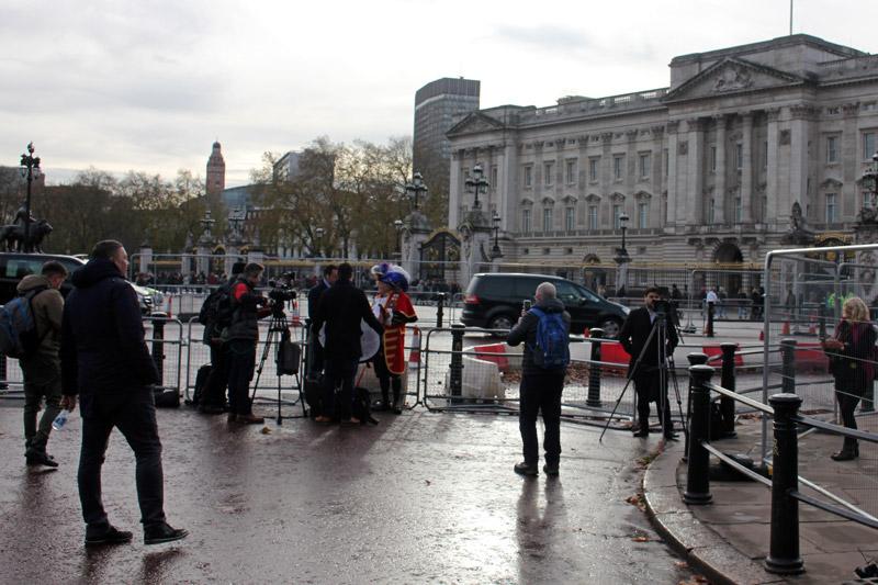 Buckingham Palace on Monday 27th November 2017