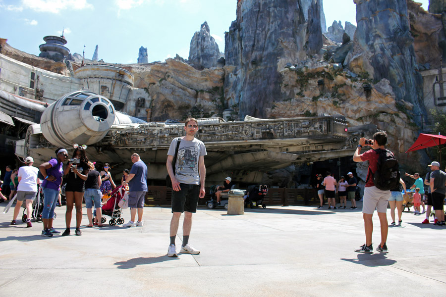 Galaxy's Edge in Disney World
