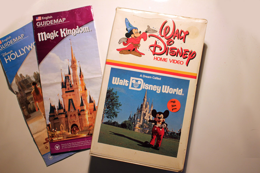 Walt Disney World VHS
